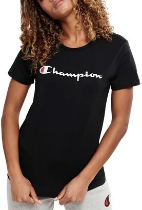 Champion Script Short Sleeve Tee