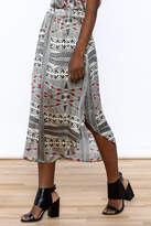 Lisa & Lucy Silk Midi Skirt