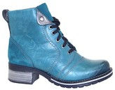 Dromedaris Leather Ankle Boots - Zipper Karissa
