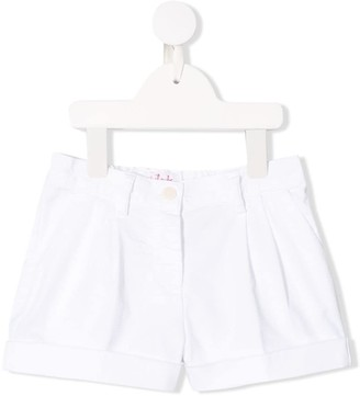 Il Gufo Pleated Detail Shorts