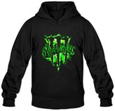 SCharlie-ych Men's Monster Drink Clipart Hoodies Cool L