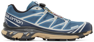 Salomon Blue XT-6 Advanced Sneakers