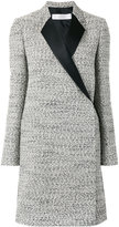 Victoria Beckham tailored coat - women - Silk/Cotton/Linen/Flax/Virgin Wool - 10