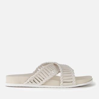 Melissa Women's Salinas Cosmic Cross Front Sandals - White