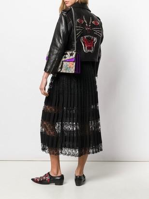 Gucci Cropped Embellished Jacket