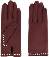 Agnelle studded gloves