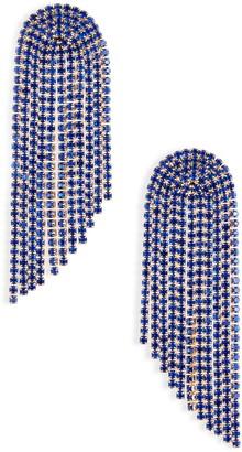 Stella + Ruby London Chain Drop Earrings