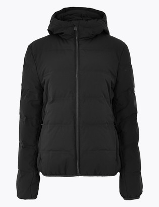 Marks and Spencer Feather & Down Puffer Zip Up Jacket