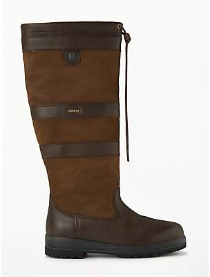 Dubarry Galway Gortex Wide Calf Waterproof Knee High Boots, Walnut Leather