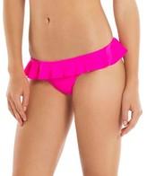 Tori Praver Seafoam Women's Ruffle Bikini Bottom Hot Pink