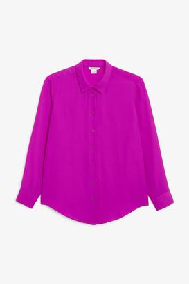 Monki Long sleeve blouse