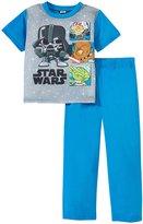 Star Wars Vader Feeling 2 Piece Set (Toddler/Kid) - Blue - 4T