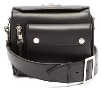 Alexander McQueen Military Leather Cross-body Bag - Womens - Black
