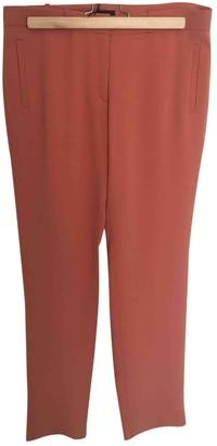 Joseph Orange Polyester Trousers