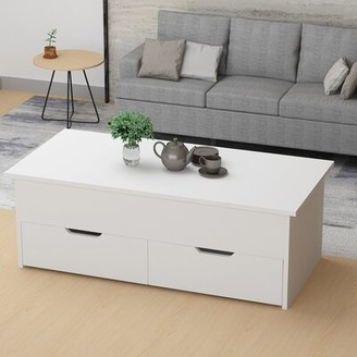 Latitude Run Dietwolf Lift Top Sled Coffee Table with Storage