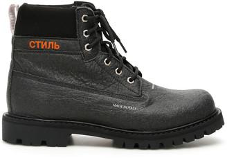 Heron Preston Ctnmb Boots