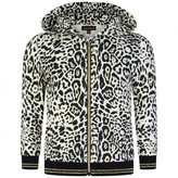 Roberto Cavalli Roberto CavalliBaby Girls Leopard Zip Up Top