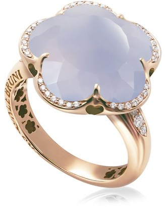 Pasquale Bruni Bon Ton 18K Rose Gold, Chalcedony & Diamond Ring