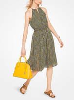Michael Kors Floral Chiffon Dress