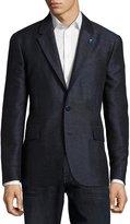 Robert Graham Varun Mixed-Weave Sport Coat, Navy