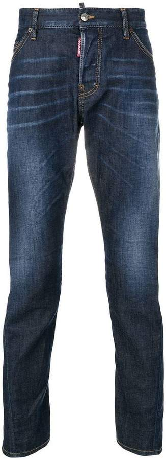 DSQUARED2 washed jeans