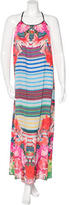 Clover Canyon Floral Print Maxi Dress