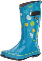 Bogs Muck Boots Boys Rain Boot Sketch Dot WP 5 Youth Sky Blue 72089