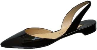 Paul Andrew Black Patent leather Sandals