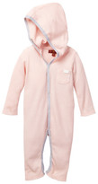7 For All Mankind Hooded Coverall (Baby Girls)