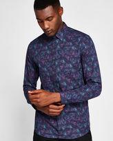 Ted Baker Palm tree print cotton shirt
