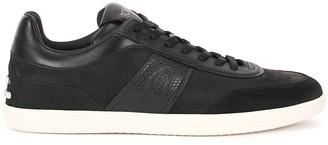 Tod's Cassetta black suede sneakers