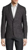 Antony Morato Wool Birdseye Notch Lapel Sportcoat