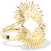 Noir Gold-plated ring