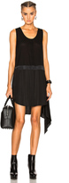 Alexander Wang Chiffon Tank Dress in Back