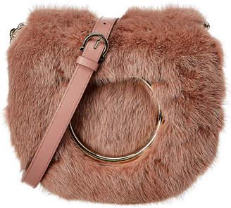 Salvatore Ferragamo Gancini Flap Leather Crossbody