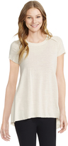 Motherhood Jessica Simpson Pull Over Side Slit Nursing Top