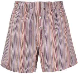 Paul Smith Striped Print Boxers