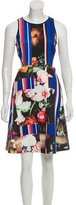 Clover Canyon Digital Print Knee-Length Dress
