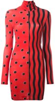 House of Holland multi print collared dress