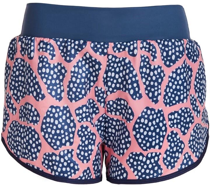 Perky Peach - Run Wild Spotty Running Shorts