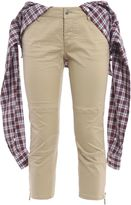 DSQUARED2 Shirt Wrap Cropped Trousers