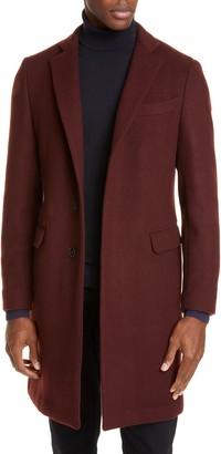 Eidos Napoli Trim Fit Wool & Cashmere Car Coat