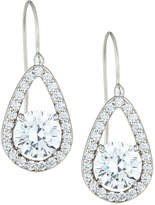 FANTASIA Teardrop Crystal Dangle Earrings