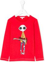 Little Marc Jacobs guitarist print T-shirt