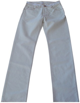 Paul Smith White Cotton Jeans for Women
