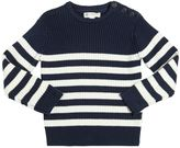 North Sails Striped Cotton & Wool Blend Sweater