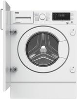 Beko WDIY854310 Built-In 8kg Wash, 5kg Dry Washer Dryer With Optional Connection