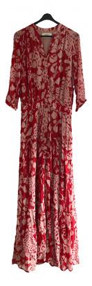 BA&SH Spring Summer 2019 Red Viscose Dresses