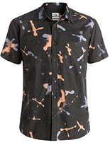 Quiksilver Men's Markings Shirt Short Sleeve Shirt