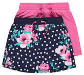 George 2 Pack Assorted Jersey Skirts